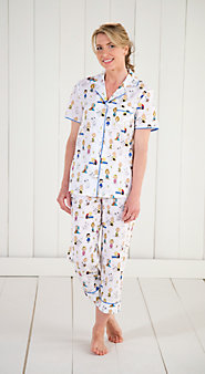 Classic Peanuts Cambric Cotton Pajamas