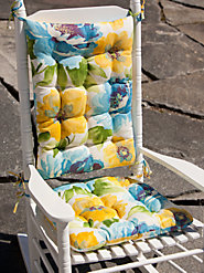 Floral and Paisley Outdoor Chair Cushions