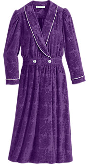 Eileen West Pamper-Perfect Velour Robe
