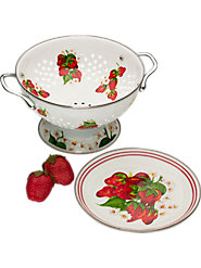 Berry Bowl Enamelware Set