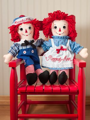 Raggedy Ann And Andy Dolls Original John Gruelle