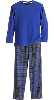 Men's Izod<sup>®</sup> Flannel Pants and Knit Top