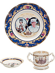 Queen's Commemorative Dinnerware