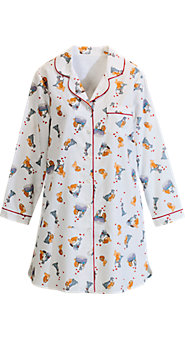 Disney Lady and the Tramp Flannel Nightshirt