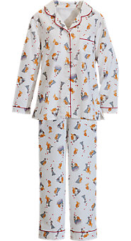 Disney Lady and the Tramp Flannel Pajamas
