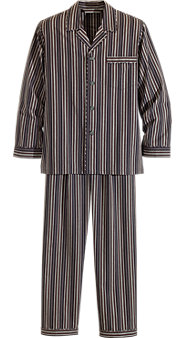Gentlemen's Classic Cotton Pajamas