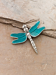 Danforth Dragonfly Brooch