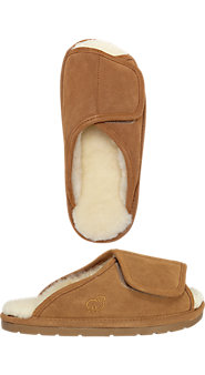 Women's Australian Sheepskin Adjustable Slippers