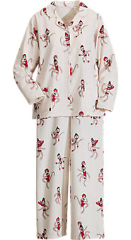 Sock Monkey Flannel PJs