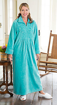 Womens Chenille Robe