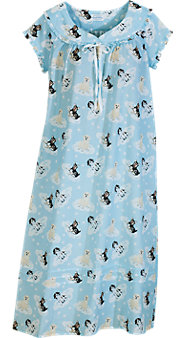 Lanz Puppies On Clouds Nightgown
