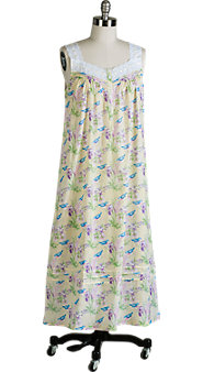 Lanz Bluebirds Nightgown