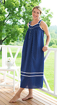 Womens Eileen West Summer Blues Nightgown
