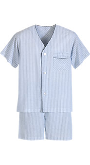 Voile Shortie Pajamas