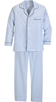 Ultralight 100% Cotton Long-Leg Pajamas