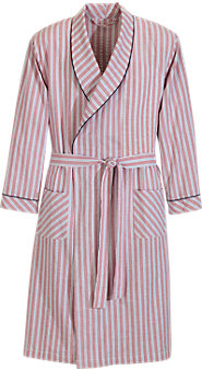 Seersucker Mens Bathrobe