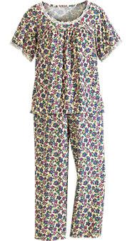 Floral Knit PJs