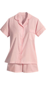 100% Cotton Batiste Shortie Pajamas