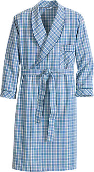 Madras Wrap Robe