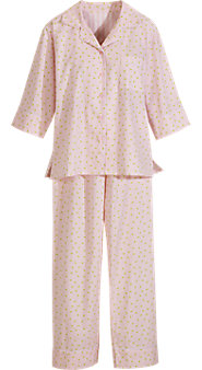 Stripes and Roses Pajamas