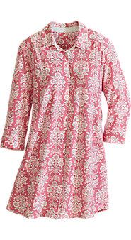 Laura Ashley Cotton-Blend Sleepshirt