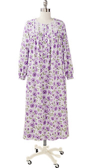 Women's Eileen West Purple Passion Flannel Gown