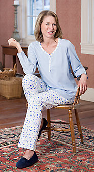 Womens Lanz Star Pajamas