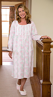 Women's Lanz Maze Of Flowers Nightgown