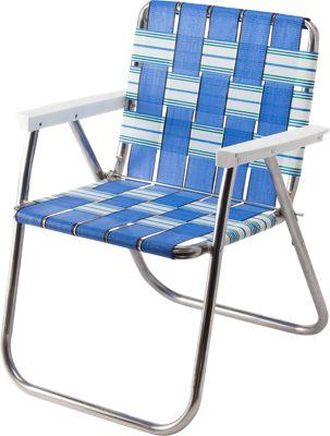 Folding Picnic Web Chair Lightweight Classic Summer Chair