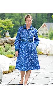 Women's Lanz Of Salzburg Kerstin Plaid Floral Dress