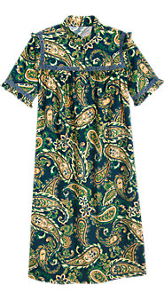 Women's Regal Paisley Nightgown