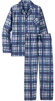 Mens Button Front Portuguese Flannel Pajamas