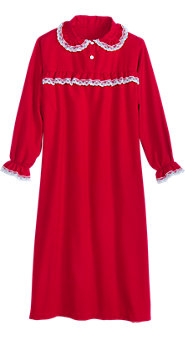 Womens Granny Nightgown