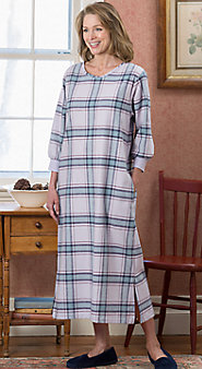 Womens Portuguese Flannel Cabin Nightgown