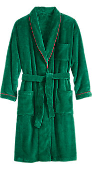 Men's Cozy Cabin Fleece Wrap Robe