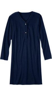 Men's Waffle-Knit Nightshirt