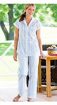 Womens Lanz Tyrolean Cotton Lawn Pajamas