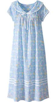 Womens Lanz Seashell Nightgown