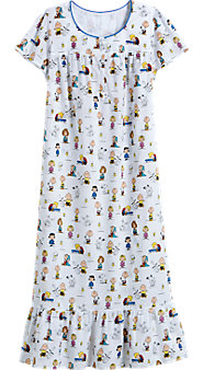 Peanuts Cotton Nightgown