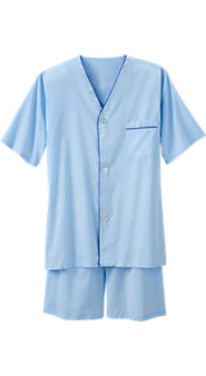 Mens Batiste Shortie Pajamas