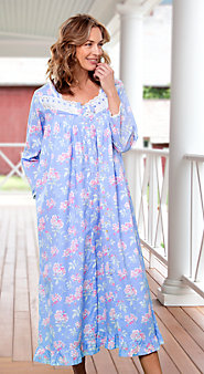 Womens Eileen West Cherry Blossom Robe