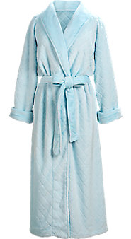 Diamond Chenille Wrap Robe