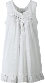 Womens Eyelet Chemise Nightgown