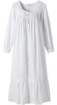 Womens Eileen West White Lights Robe