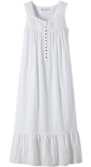 Eileen West White Lights Nightgown