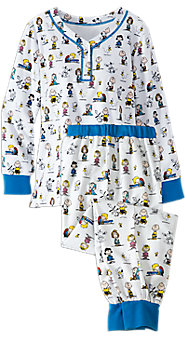 Classic Peanuts Ski Pajamas