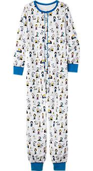 Unisex Classic Peanuts Onesie Pajamas