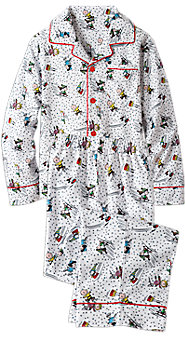 Kids Peanuts Snow Fun Pajamas