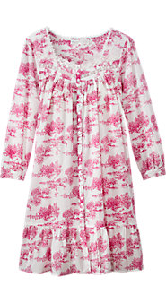 Womens Eileen West Garden Of Dreams Toile Robe