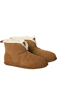 Mens Shearling Soft Bottom Bootie